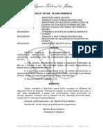 Ac REsp 347692 Desmembramento Município Sindicato Sapateiros Franca