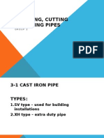 Measuring, Cutting and Joining Pipes