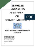 Services Marketing Manish