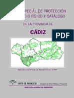 Plan Especial de Protección del Medio Físico y Catálogo de la provincia de Cádiz