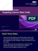 CCO Cancer Stem Cells Slides