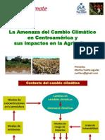 Aguilar_La Amenaza Del Cambio Climatico en Centroamerica y Sus Impactos en La Agricultura_ESP