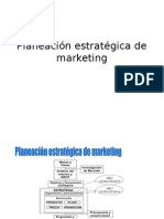 Planeación Estratégica del  Marketing.