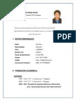 David Astete Perez CV