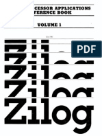 1981 Zilog Microprocessor Applications Reference Book Volume 1