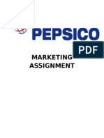 Report on Pepsico Pakistan