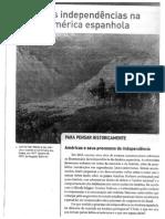 Apostila _independências Na América Espanhola - Tamanho Grande