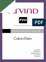 Joint Venture Arvind-PVH