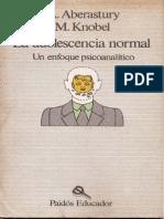 Aberastury, A. & Khobel, M. (1989). La Adolescencia Normal - Un Enfoque Psicoanalítico. Ed. Paidós