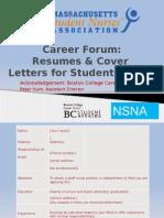 career forum 2014 -  nsna resume resources 3-14-14