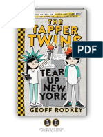 The Tapper Twins Tear Up New York by Geoff Rodkey (PREVIEW)