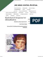 Kinderbuch & Symptome Bei (Klein)Kindern › Trauma Based Mind Control & Ritual Abuse_30.03.2015