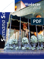 Programa Semana Santa de Huéscar 2015