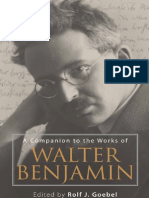 (Studies in German Literature Linguistics and Culture) Rolf J. Goebel-A Companion to the Works of Walter Benjamin-Camden House (2009)