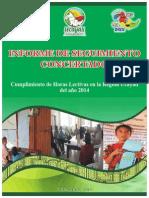 Informe de Seguimiento Concertado a las Horas Lectivas Ucayali 2014