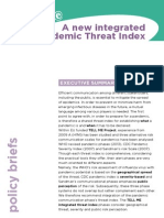 Proposal for a new integrated Pandemic Threat Index