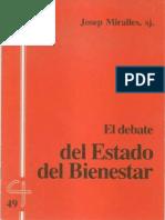 CJ 49, El Estado de Bienestar, Debates y Perspectivas - Josep Miralles