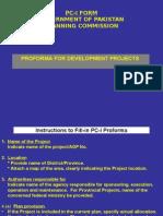3 - PC-I Social & Production Sectors