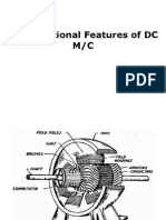 Constructional Features of DC Motor