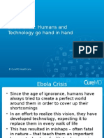 Ebola Crisis Humans and Technology Go Hand in Hand