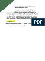 Organizarea Auditului Si Controlul Intern Al Intreprinderii