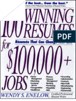 100 Winning Resumes for $100,000+ Jobs