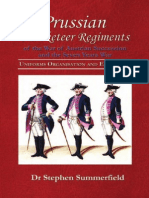 Prussian Musketeers Regiments (7YW)