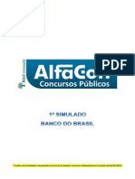 Simulado Banco  Brasil Alfacon