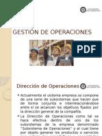 Clase 1 - Subistema de Operaciones