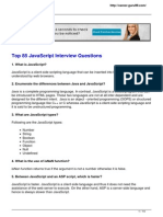 Top 85 Javascript Interview Questions