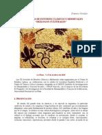 Jornadas de estudios clásicos y medievales