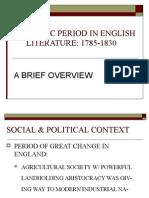 Romantic Period in English Literature