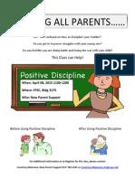 Positive Discipline Class
