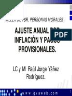 Ajuste Anual Por Inflacion