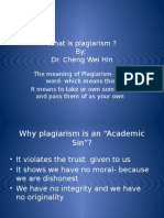 MBA 2-What is Plagiarism