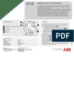 2CSY600014D0901 - Foglio Istruzione Lampada Anti Black-out Serie Civile Mylos