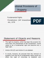 Constitutional Provisions 1