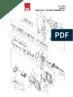 makita HR2621 parts manual- DEC2014