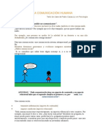 Axiomas de La Comunicacion Humana.docx Comunicacion Humana