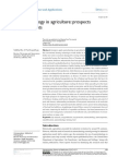 NSA 39409 Nanotechnology in Agriculture Prospects and Constraints 080414