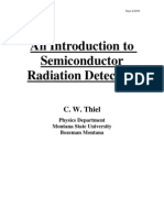Semiconductor Radiation Detectors
