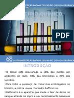 principio quimico do bafometro