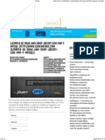 Drag and Drop JQuery Con PHP y MySQL - Codedrinks
