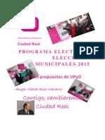 Programa Electoral UPyD Ciudad Real