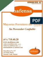Catalogo Mafesa