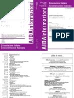 AIDA Informazion1, nro. 1-2/2009
