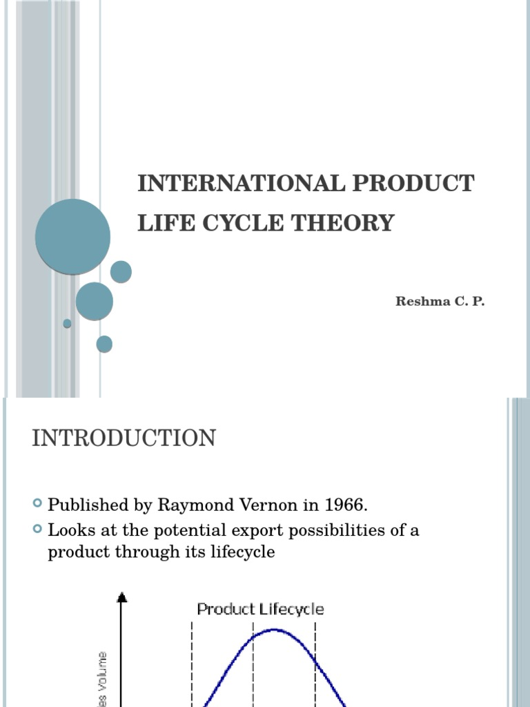 vernon 1966 product life cycle