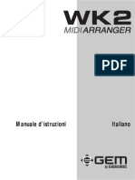 Gem Wk2 Midi Arranger Manuale Italiano