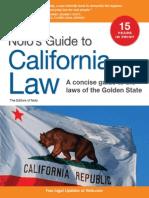 Nolo Press Guide to California Law 11th (2011)