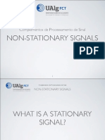 Non Stationary Signals